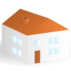 Haus isoliert