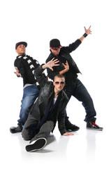 Three Young Man Dancing