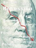 Recession poster