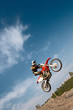 Fototapete Motorrad - Motorsport - Beim Sport