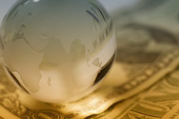 Global finances concept