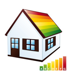 House with energy certification
