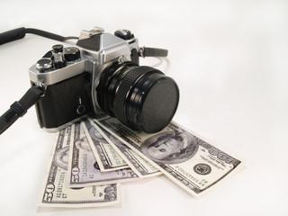 Camera on Money