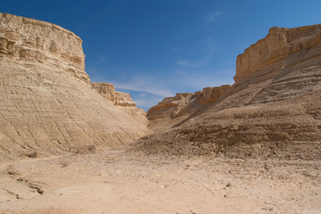 The Perazim canyon.