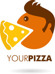 icon and logo of pizza