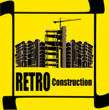 Retro Construction Flyer poster