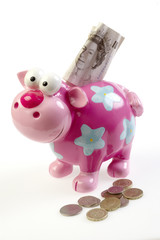 Piggybank with Stirling