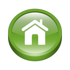 Home Sign Icon Button