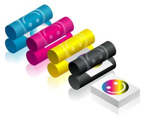 Isometric printing office