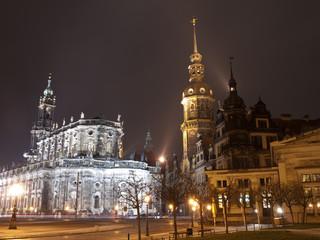 Palacios e iglesias en Dresde