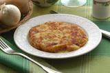Frico con le patate e cipolla - Cucina tradizionale del Friuli poster