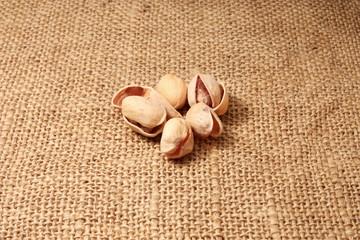 gruppo di pistacchi