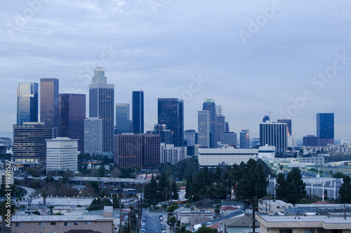 Los Angeles Skyline at Dusk