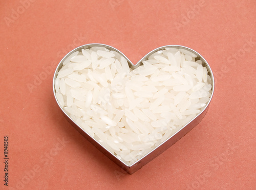 Heart of rice