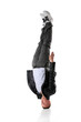 Hip Hop Dancer Standing On Head