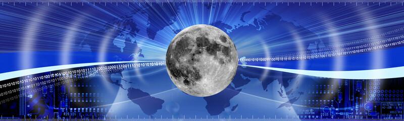 moon banner concept