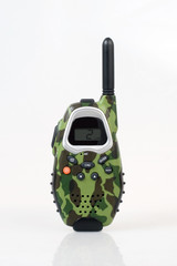 2-way radio, front view