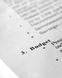 Budgeting poster