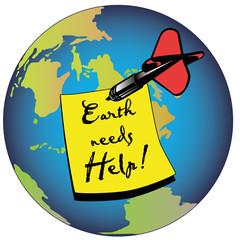 earth needs help