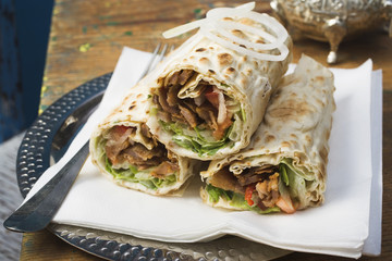 döner wraps from turkey