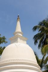 Dagoba à hikkaduwa, Sri Lanka