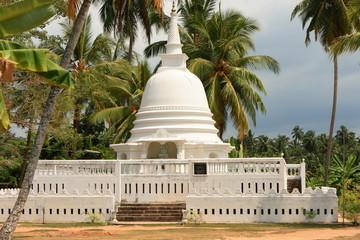 Dagoba d'Hikkaduwa, Sri Lanka