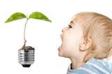 écologie génération environnement bébé enfant habitude économie poster