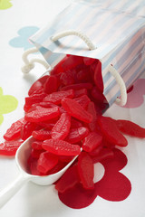 swedish fish (fish-shaped fruit gums, usa)