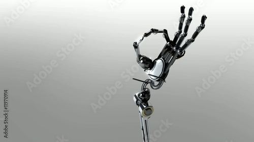 Robot  super animation 3D
