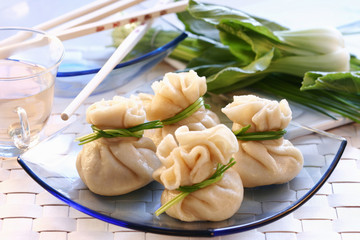 wontons (filled pastry parcels, china)