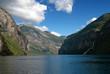 Geirangerfjord, UNESCO World Heritage Site since 2005, Norway