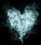 Fototapeta tło - piękny - Dym