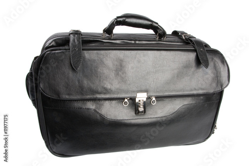 poster of Heavy travel or business bag isolated over white