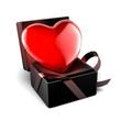 coeur en écrin