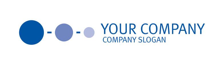 Logo, logotype mit Kreisen