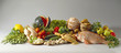 still life with healthy, slimming foods