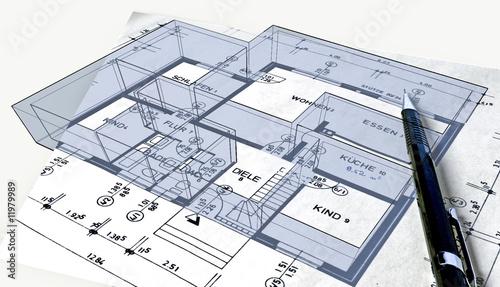 bauplan 3d stockfotos und lizenzfreie bilder auf bild 11979989. Black Bedroom Furniture Sets. Home Design Ideas