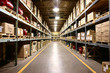 Leinwanddruck Bild - Product Warehousing