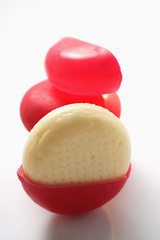 mini-goudas (babybel)