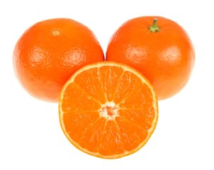 Fresh and appetizing oranges