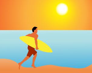 bad surfer