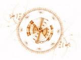 Ancient mechanism, metallic cogwheel poster