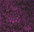 roleta: modern floral wallpaper