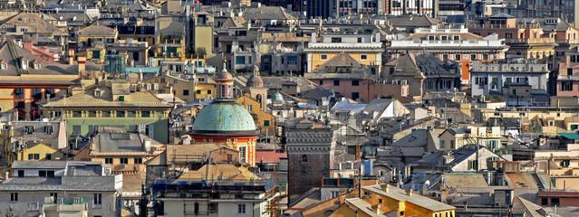 stratificazione urbana a genova