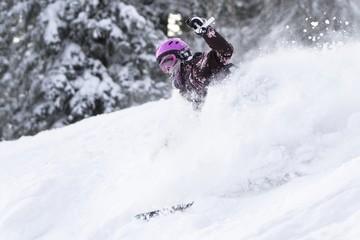Powder riding