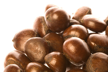 Roasted Chestnuts Isolated