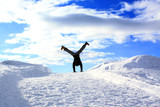 Fototapety Freestyle im Schnee