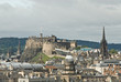 Edinburgh Castle City Skyline