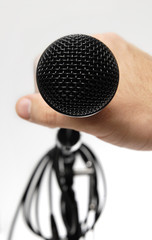 Grab the Microphone