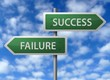 Roadside Signpost - Success & Failure